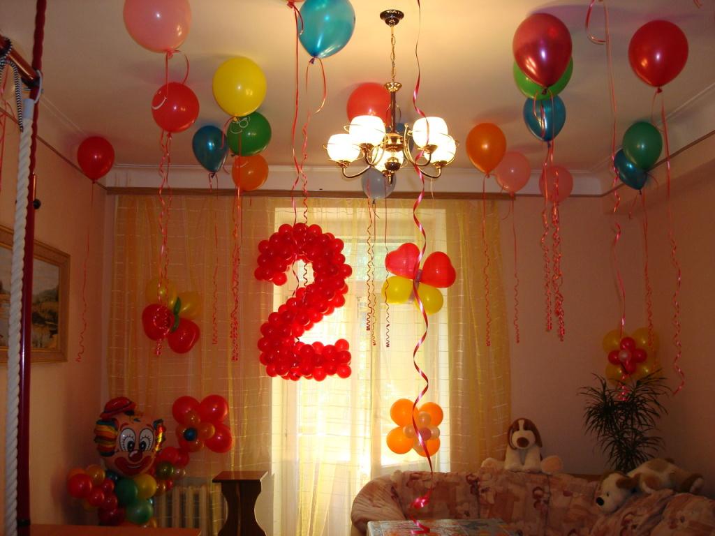 АэроСтудия Смайлик Чита. Оформление воздушными шарами Чита. Продажа воздушных шаров - Услуги - Оформление дня рождения